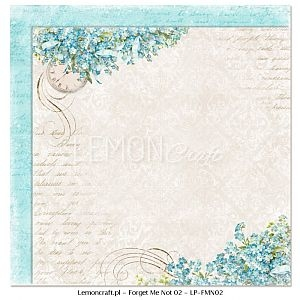 Papier do scrapbooking Forget Me Not 02