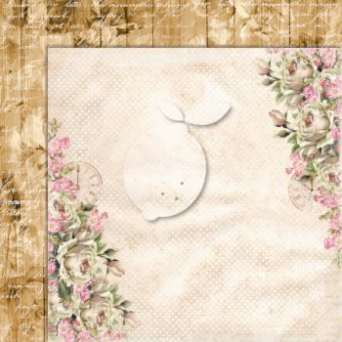 Papier do scrapbooking House of Roses 03 Extra