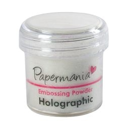Puder do embossing PMA1002 Tinsel Snowflake (holograficzny)