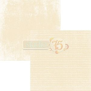 Papier do scrapbooking Primo 08 yellow