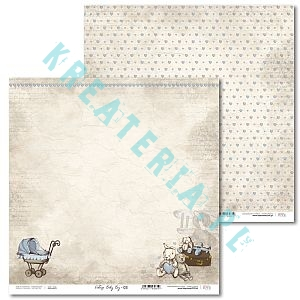 Papier do scrapbooking Vintage Baby Boy 03