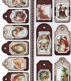 Papier do scrapbooking A4 TAG0129