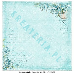 Papier do scrapbooking Forget Me Not 03