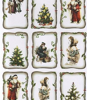 Papier do scrapbooking A4 TAG0071