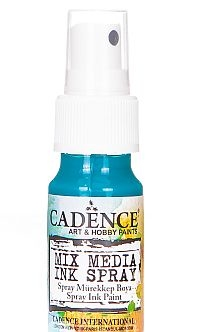 Mixed Media Cadence Tusz spray Light Blue/Green MM14, 25m