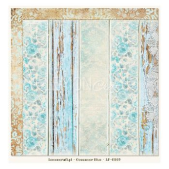 Papier do scrapbooking Gossamer Blue 02