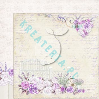 Papier do scrapbooking My sweet Provence 02