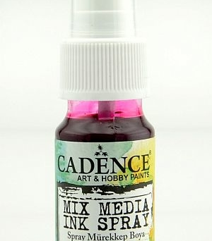Mixed Media Cadence Tusz spray Magenta MM07, 25ml