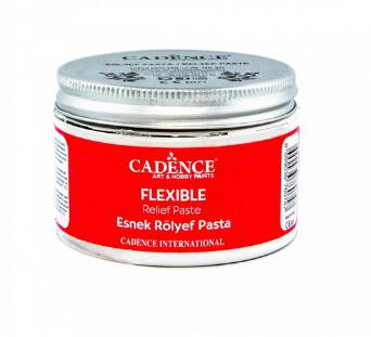 Pasta reliefowa Flexible 150ml Cadence - elastyczna do koronek