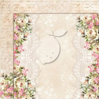 Papier do scrapbooking House of Roses 05 Extra