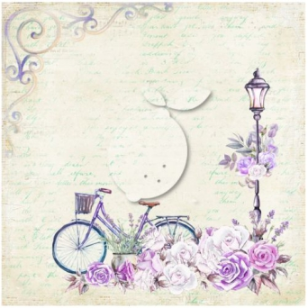 Papier do scrapbooking My sweet Provence 06