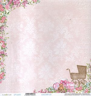 Papier do scrapbooking Lullaby 03