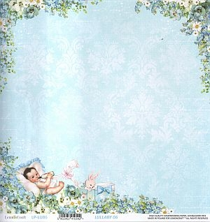 Papier do scrapbooking Lullaby 06