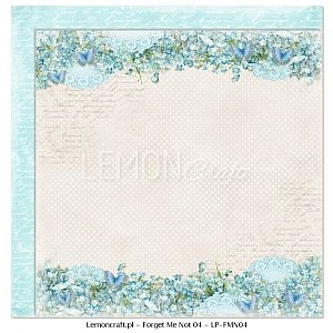 Papier do scrapbooking Forget Me Not 04
