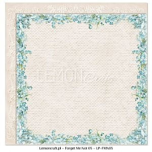 Papier do scrapbooking Forget Me Not 05