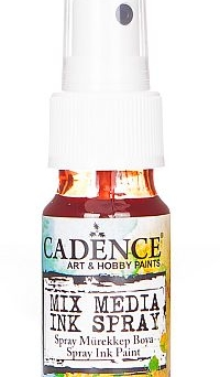 Mixed Media Cadence Tusz spray Red MM16, 25ml