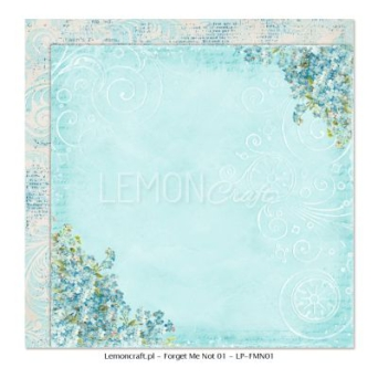 Papier do scrapbooking Forget Me Not 01