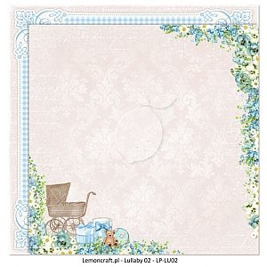 Papier do scrapbooking Lullaby 02